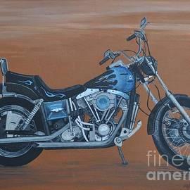 Sally Rice - Harley Davidson Dyna