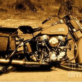 Andrzej Goszcz  - Harley - Davidson. Hydral Glider. 1956. Featured 5 Times