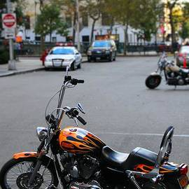 Dan Sproul - Harley Davidson In New York City