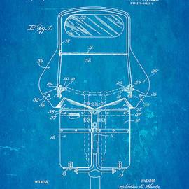 Ian Monk - Harley Davidson Motorcycle Windshield Patent Art 1920 Blueprint