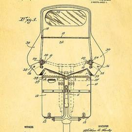 Ian Monk - Harley Davidson Motorcycle Windshield Patent Art 1920