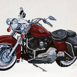 Janet Felts - Harley Road King