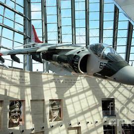 William Kuta - Harrier Jump Jet at the Marine Corps Museum