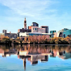 Susan Savad - Hartford CT Skyline