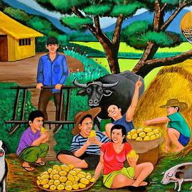 Cyril Maza - Harvest Time