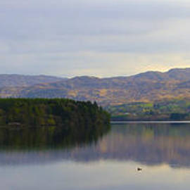 Bill Cannon - Harveys Point on Lough Eske Panorama