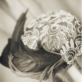 Jo Ann Tomaselli - FASHION ART - DECO SWIRL HAT by Jo Ann Tomaselli