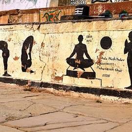 Kim Bemis - Hatha Yoga Wall Art  - Varanasi India