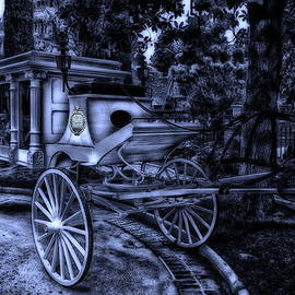 Thomas Woolworth - Haunted Mansion Hearse At Midnight New Orleans Disneyland