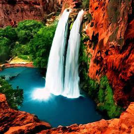 Bob and Nadine Johnston - Havasue Falls Grand Canyon