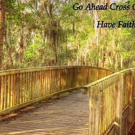 Linda Covino - Have faith poster