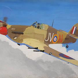 Ted Denyer - Hawker Hurricane Mk.IV