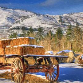 Donna Kennedy - Hay Wagon