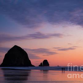 Brian Jannsen - Haystack Rock Twilight