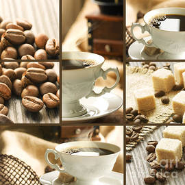 Mythja  Photography - Healthy breakfast collage