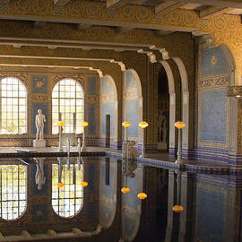 Heidi Smith - Hearst Castle Roman Pool Reflection
