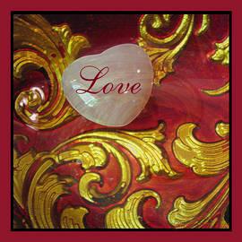 Brooks Garten Hauschild - Heart and Scroll squared