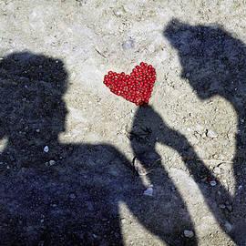 Alex Khomoutov - Heart of Love and Romance - Metaphysical Energy Art Print