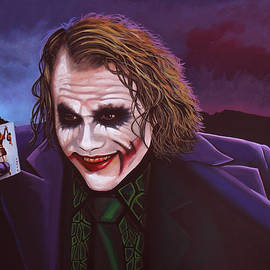 Paul Meijering - Heath Ledger as the Joker 2