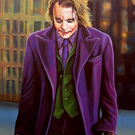 Paul  Meijering - Heath Ledger as the Joker