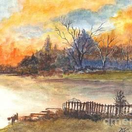 Carol Wisniewski - The Serene Sunset