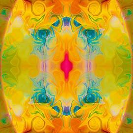 Omaste Witkowski - Heavenly Bliss Abstract Healing Artwork by Omaste Witkowski
