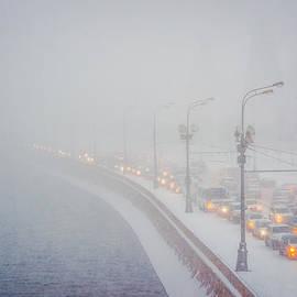 Alexander Senin - Heavy Snowfall In Moscow