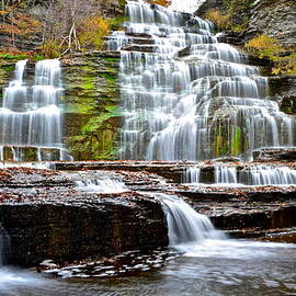 Frozen in Time Fine Art Photography - Hector Falls