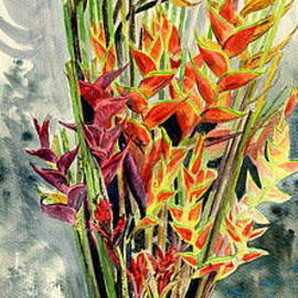 Melly Terpening - Heliconia Bouquet