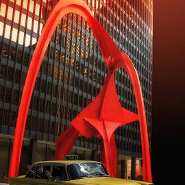 Thomas Woolworth - Hello From Chicago The Flamingo Sculpture 04