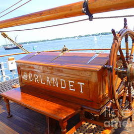Lingfai Leung - Helm of The Sorlandet Tall Ship
