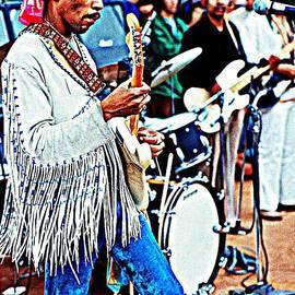 Sue Rosen - Hendrix live at Woodstock