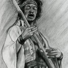 Roz Abellera Art - Hendrix