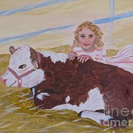 Phyllis Kaltenbach - Herford Calf and Me
