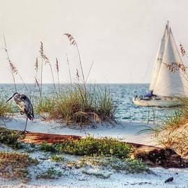 Michael Thomas - Heron and Sailboat