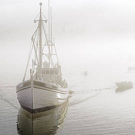 Marty Saccone - Herring Carrier Capelco Emerges from Fog