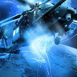 Reggie Saunders - HH-60 Pave Hawk---Blue Space