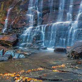 Pierre Leclerc Photography - Hickory Nut Falls in Chimney Rock State Park