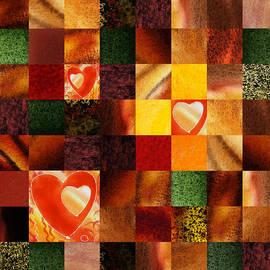 Irina Sztukowski - Hidden Hearts Squared Abstract Design