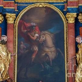Elzbieta Fazel - High Altar in Small Church in Tyrol