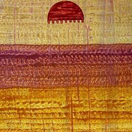 Sol Luckman - High Desert Horizon original painting