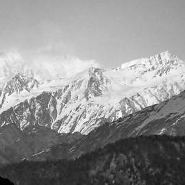 Kim Bemis - High Himalayas - Black and White