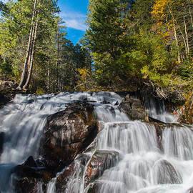 Lynn Bauer - High Sierra Autumn Falls