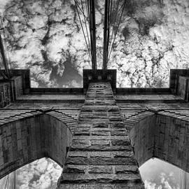 Allan Van Gasbeck - High Sky Brooklyn Bridge