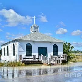 Kathy Baccari - High Tide At Pawleys Island Church