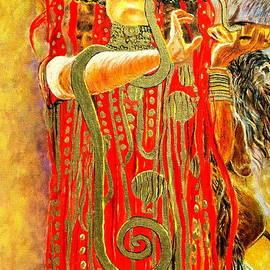 Henryk Gorecki - Higieja-according to Gustaw Klimt