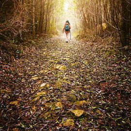Carlos Caetano - Hiker Girl