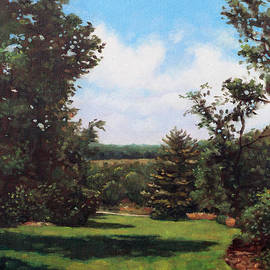 Martin Davey - Hillier Gardens Grass and Trees