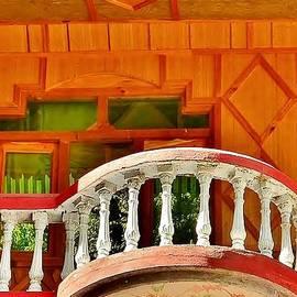 Kim Bemis - A Beautiful Balcony - Himalaya India