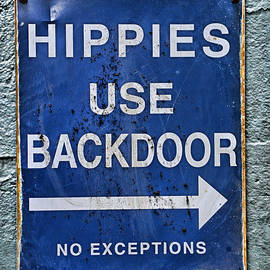 Paul Ward - Hippies Use Back Door in Full Color